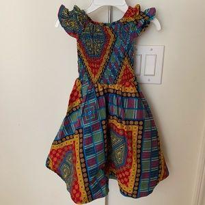 Hand made African print dress
